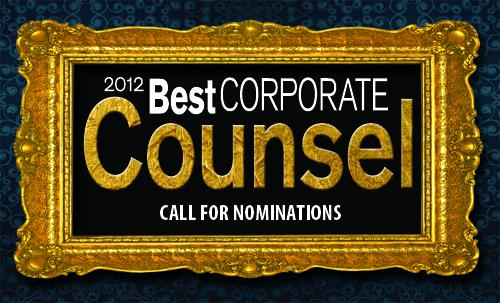 Best Corporate Counsel 2012