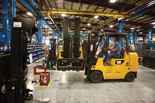Mitsubishi Caterpillar Forklift America has a 42-acre headquarters campus in Houston.