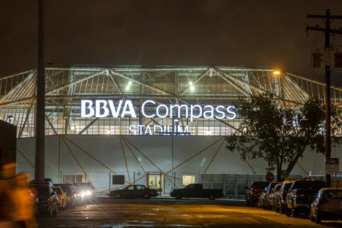 BBVA Compass Stadium, the new home of the Houston Dynamo, has received LEED Silver certification.