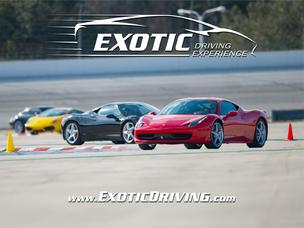 Exotic Driving Experience will expand into 10 markets, including the Houston area, next year.