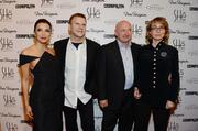 From left: Longoria, Fertitta, astronaut Mark Kelly and former U.S. Rep. Gabrielle Giffords