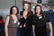 From left: Rachelle Khalaf, Ashley Meijer and Valerie Clifton, all of Kelsey-Seybold Clinic.