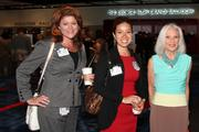 From left: Michelle Mahfouz and Alexa Enriquez, both of Texas Medical Center, with Cynthia Nordt of Houston Hospice.