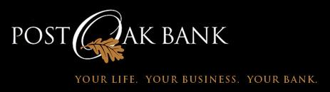 Post Oak Bank NA has filed with federal regulators to open its first branch in The Woodlands at 1800 Hughes Landing Blvd., according to a weekly report by the Office of the Comptroller of the Currency.