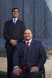 The Whitehead Group, who were selected based on NABCAP's score as exemplary in risk management.From left, Scott Monteverde and Don Whitehead.