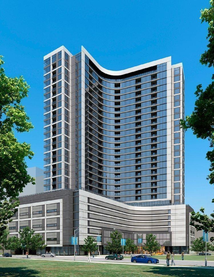 Solomon Cordwell Buenz designed the 355-unit Hanover Post Oak apartment complex in Houston.