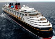 The Disney Magic crew totals 950, and it has a capacity of 2,713 passengers.