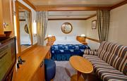 Of the Disney Magic's 877 staterooms, 256 are inside staterooms.