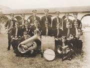 The Rice band is formed in 1916 and continues to perform standard college routines until 1969, when the Marching Owl Band takes the spotlight with light-hearted antics spoofing opponents at halftime performances.
