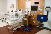 A private NICU room at the Texas Children's Hospital Pavilion for Women