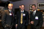 From left: 40 Under 40 honorees Colter Lewis, Chris Myers and Ben Johanneman