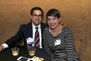 From left: 40 Under 40 honoree Edgar Saldivar with Christy Saldivar