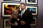 From left: Susan Dimitry with 40 Under 40 honoree Ted Dimitry