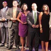 From left: Jevaughn Sterling, Cameron Slocum, Miya Shay, Dylan Seff and Anna Sankaran