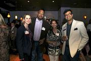 From left: Jen Lemanski, 40 Under 40 honoree Kelsey Ruger, Reetu Gupta, and 40 Under 40 honoree Tushar Gupta.
