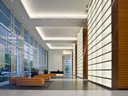Located in the epicenter of the Central Business District, BG Group Place has a 30-foot-tall lobby accentuated with back-lit architectural-fluted glass, Italian marble, granite floors and flat-cut sycamore wood — perfect in providing an open and exciting workspace for employees.