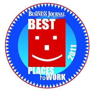 The Houston Business Journal has unveiled the finalists for the 2011 Best Places to Work Awards. Winners will be named at the luncheon on June 16.