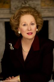"Laughlin: Meryl Streep (pictured in her role as Margaret Thatcher in ""The Iron Lady"") and Glenn CloseRead the entire interview here"