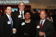 From left: Michael Mallett, Angel Pena, Tina Poindexter and Dan Lang, all of Memorial City Bank.