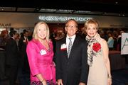From left: Lynda Broussard of Broussard Advertising, Dan Evans of Comerica and Leisa Holland-Nelson of ContentActive.