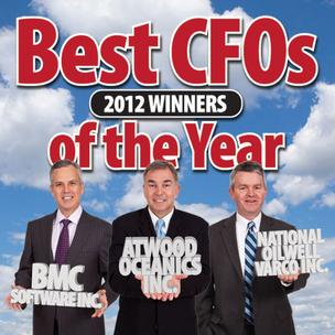 2012 Best CFO Award Winners.