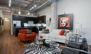 The apartment lofts in City View Lofts feature 14- to 30-foot barrel-vaulted ceilings.