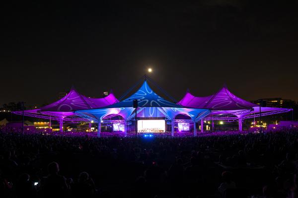 The Cynthia Woods Mitchell Pavilion ranked second out of the top 100 amphitheaters in the world based on the number of tickets sold in 2012.