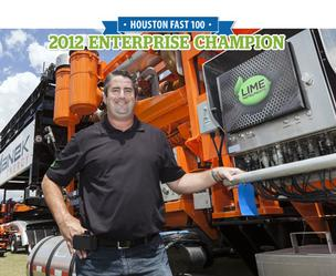Rob Stewart, president of Lime Instruments, which ranked No. 4 on HBJ's 2012 Fast 100 list with 614.3 percent three-year growth.