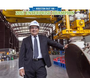 Trendsetter Engineering, led by Mario Lugo, ranked No. 11 on HBJ's 2012 Fast 100 list with 305 percent growth.