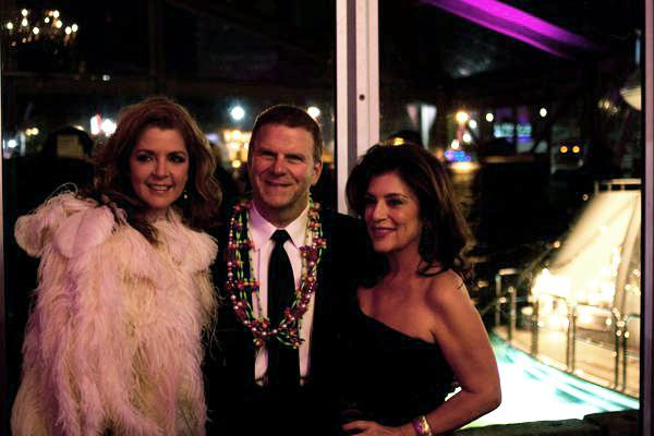 Click through the slides to get a glimpse of a party hosted by Paige and Tilman Fertitta (left and center). Pictured at right is Dancie Perugini, of Dancie Perugini Ware Public Relations.