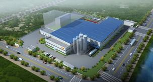 A rendering of GSE's new Chinese manufacturing facility.
