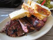Houston eats: Barbeque (pictured is a plate from Houston staple Goode Co. BBQ).Take that, Cincy.