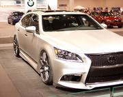 Lexus brought its Project LS F Sport by Five Axis to Houston.