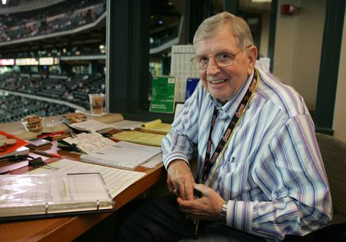 Milo Hamilton is retiring from the Houston Astros broadcast booth after the 2012 season.