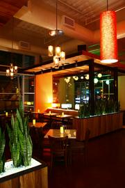 The Sugar Land location features energy-efficient LED lighting.