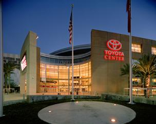 The Toyota Center is expected to host the NBA All-Star game  on Feb. 17, 2013.