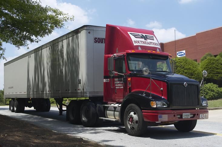 Southeastern Freight Services has service center locations stretching from South Carolina to Texas.