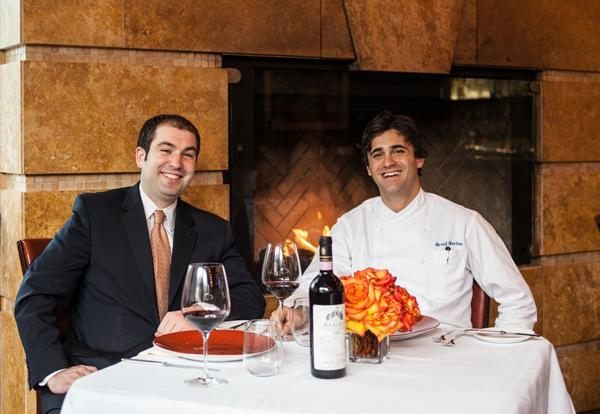 General Manager Scott Sulma (left) and Executive Chef Grant Gordon plan to open a new steakhouse in Houston under the name Vallone's. The restaurant is named for Houston restauranteur Tony Vallone.