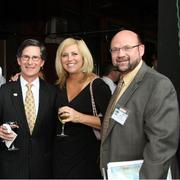 From left: Rick Stein of UHY LLP, Julie Eberly of Lemonade Day and Mike Matthews of Lone Star College.