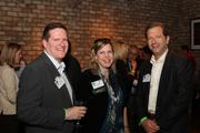 From left: Thomas Havron of Top Producer Properties, Jennifer Dawson of Houston Business Journal and Ernie Rapp of the Up Experience.