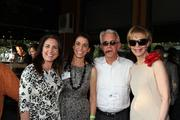From left: Marie Guillot and Chantelle Dugas of ABACO International, Russ Capper of the Business Makers radio show, and Leisa Holland-Nelson of ContentActive.