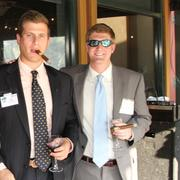 From left: Seth Michaelson and Cole Walters, both of Bancorp South.