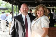 From left: Ted Girder of Comcast Business Class and Belle Rebiere of Aldridge Co.
