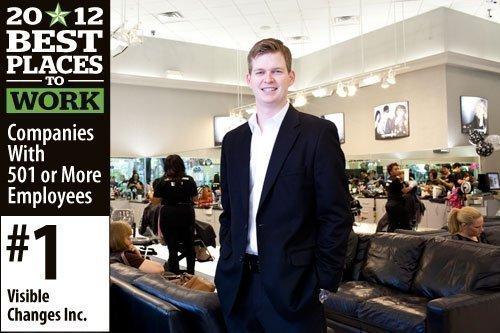 John W. McCormack, president of Houston-based Visible Changes hair salons.