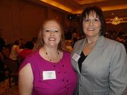From left; Jaime Fountain of W. Mae Co. and Amanda Eaves of Whitney Penn LLP