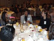 Audrey J. Gilbreath of Gilbreath Communications Inc. at a roundtable discussion with women business owners