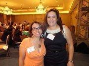 From left: Olga Menefee of Marketing2sb Consulting and Mariela Knapp of Keller Williams