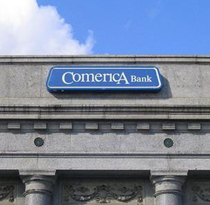 Comerica Inc. will lay off 300 employees in Houston related to the acquisition of Sterling Bancshares Inc.