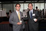 From left: Jonny Heins of Porter Hedges LLP and Bill McDonald of Thompson & Knight LLP