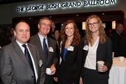From left: Geoff Long of Thompson & Knight LLP, Bill McDonald of Thompson & Knight LLP, Stefanie Vincent of Burleson LLP, and Cynthia Mabry of Thompson & Knight LLP.